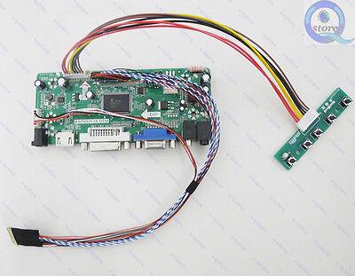 HDMI+DVI+VGA LCD Lvds Converter Driver Monitor Diy Kit for 1920X1080 B156HTN03.3