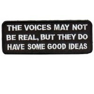 VOICES MAY NOT BE REAL BUT DO HAVE SOME GOOD IDEAS