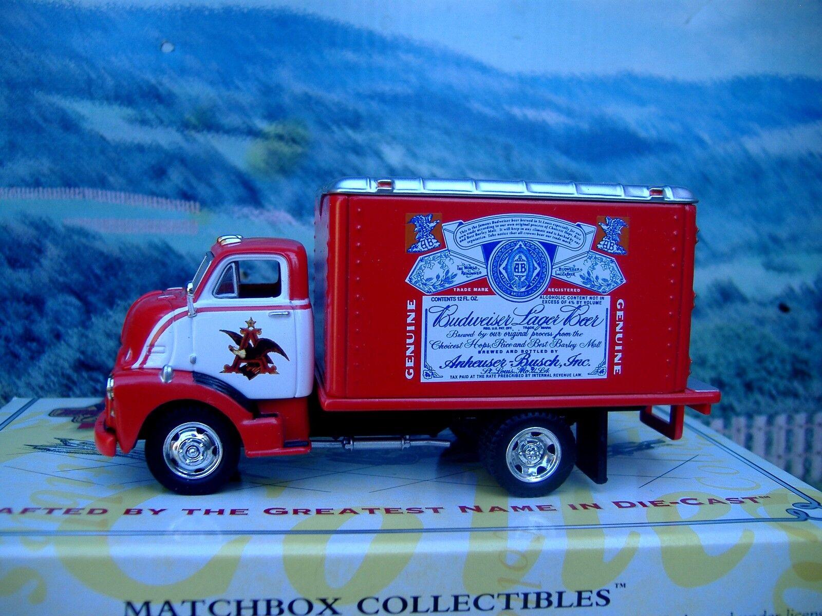 minorista de fitness Matchbox Collectibles GMC C.O.E C.O.E C.O.E 1948 Budweiser  punto de venta en línea