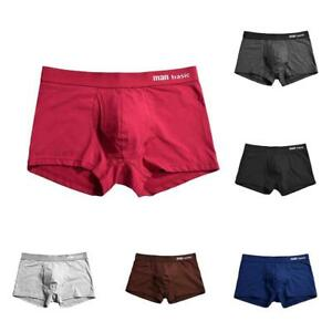 HotMan-Underwear-Medium-Waist-Loose-Boxers-Cotton-Underpants-Boxer-Briefs-Shorts
