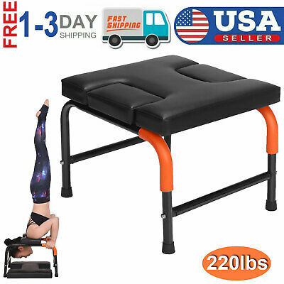 home use fitness yoga chair headstand inversion bench