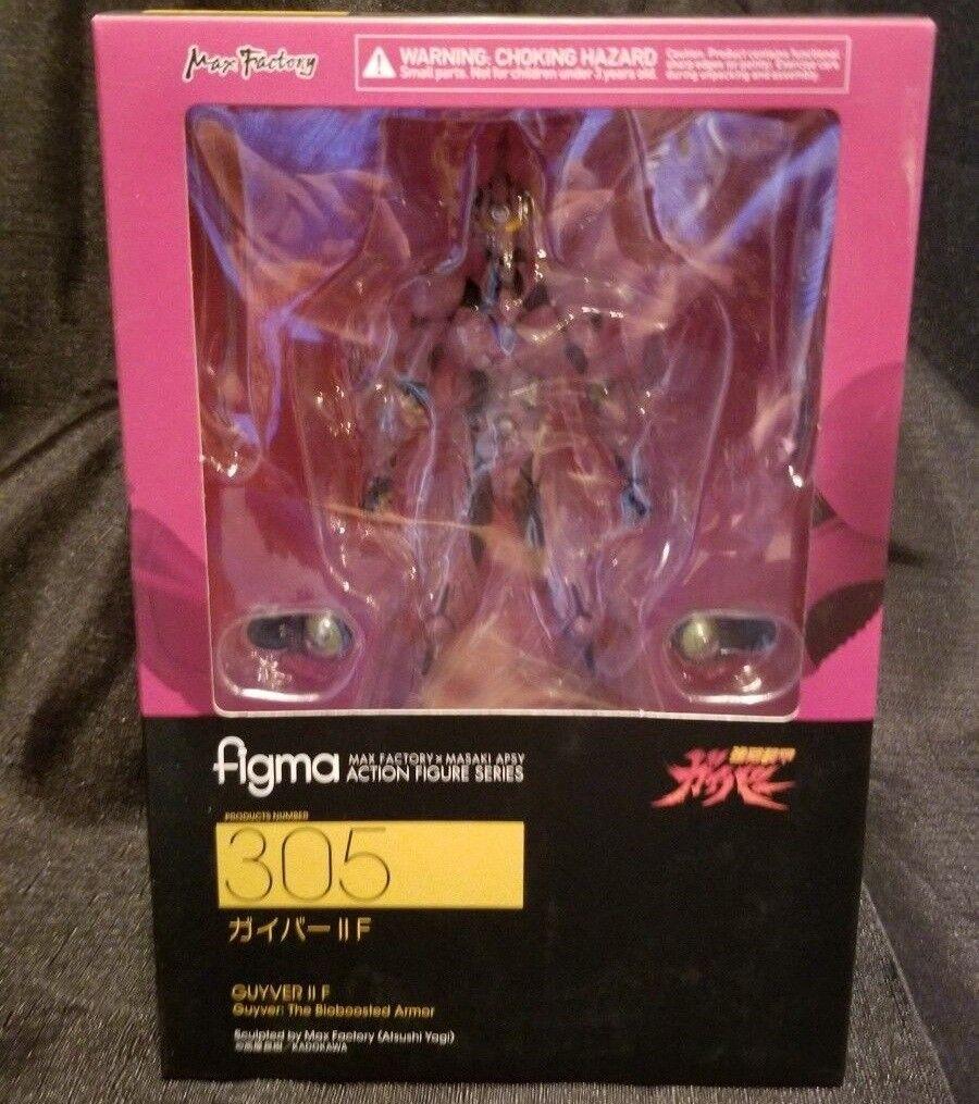 Max Factory FIGMA Bio Booster Armor Guyver GUYVER FEMALE IIF Action Figure
