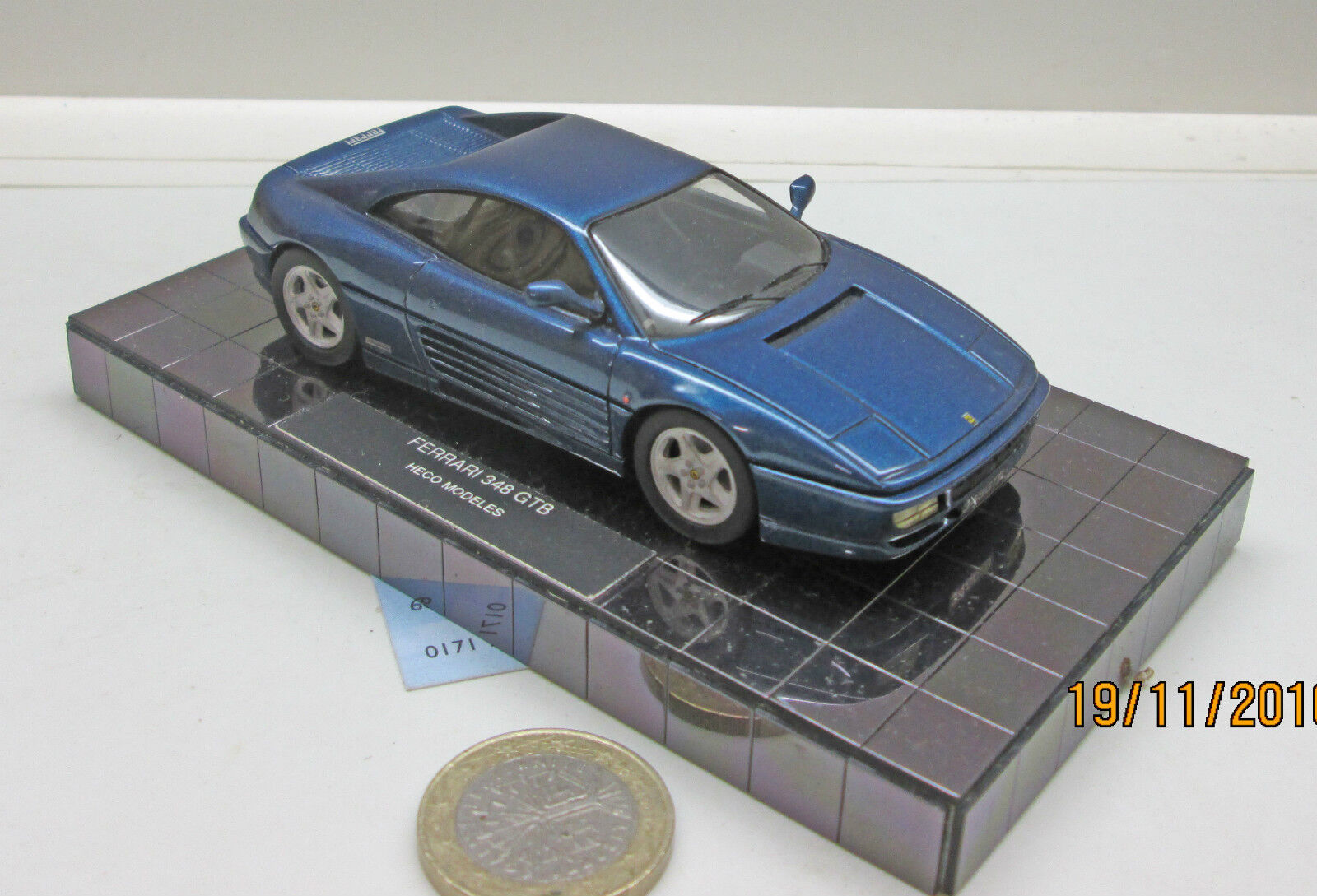 HECO MODELES  FERRARI 348 GTB, 1994, BLU MET. (730)