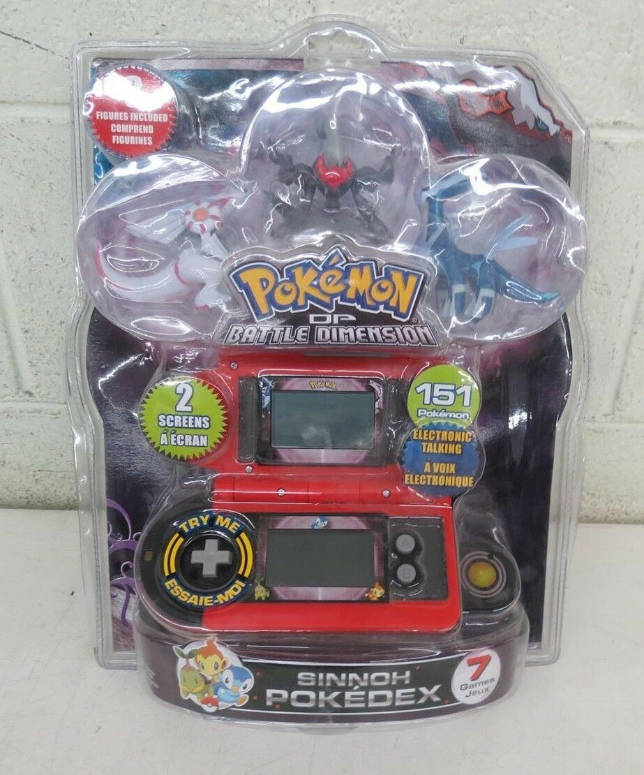 Jakks Pokemon DP Battle Dimension Electronic Game w/Action Figures NEW LOOK