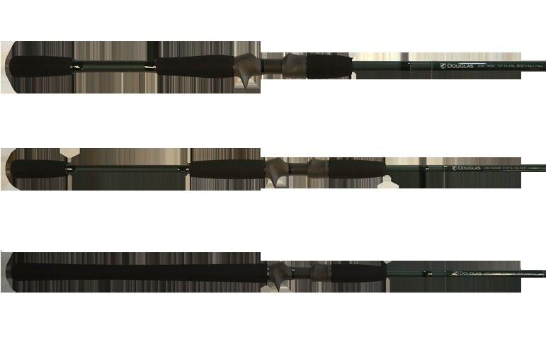 "DOUGLAS DXC CASTING ROD 724F 7'2"" 10-15 LB TEST 1 8-7 16 OZ"