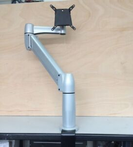 SpaceArm Platinum C-Clamp Desk Swivel & Tilt Monitor Arm (Used)