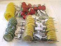 Decorative Artificial Fruit Arrangements Lemon Lime Strawberry Pineapple X59 Lot