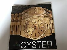 Rolex Oyster Vintage Catalogue 1989 Rare Ref 16520 16610 16700 16710