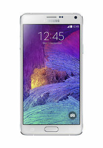040227edb4476 Samsung Galaxy Note 4 SM-N910T - 32GB - Frost White (T-Mobile) Smartphone