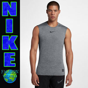 b048d79a Nike Pro Men's Size XL Sleeveless Training Top 838087-091 Carbon ...