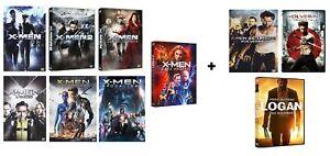 X-Men Complete Collection +  X Men - Wolverine - Logan (10 film in DVD) Ed.Ita.