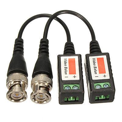 10xHD 720P 1080P CVI TVI AHD Video Balun Coax BNC to UTP CAT5 for CCTV HD Camera