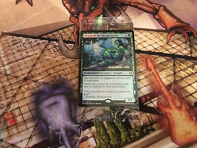 Mtg Theros Beyond Death Dryad of the Ilysian Grove Extended Art FOIL NM