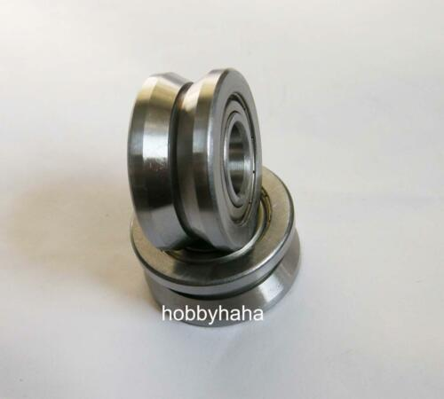 New 10pcs 15*38*17mm Sealed Ball Bearing V Groove Bearing  LV202-38ZZ