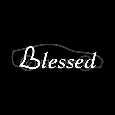 BLESSED BE Sticker Decal Wicca Blessing Pagan Greeting Farewell Cute Wiccan Wish