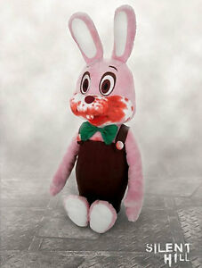 SILENT-HILL-ROBBIE-the-Rabbit-15-034-Plush-stuffed-Doll-KONAMI-official-New-RARE