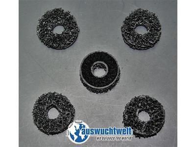 5x Ersatzscheiben für Stehbolzenschleifer Typ2 40mm Radnabenschleifer