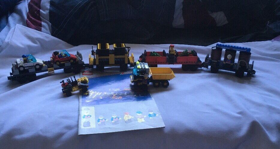 LEGO SYSTEM TRENO Auto Set 2126 da 1997 ** Molto Raro **