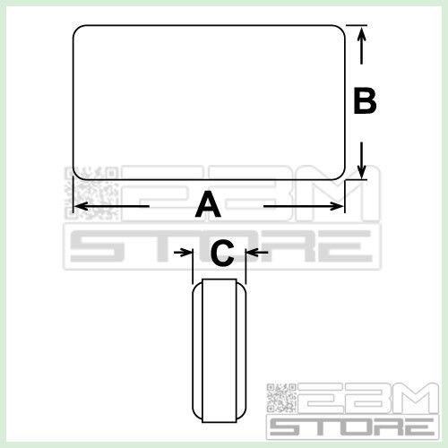 5 Pezzi Scatola Con Custodia ABS Per Circuiti Elettronici Contenitore