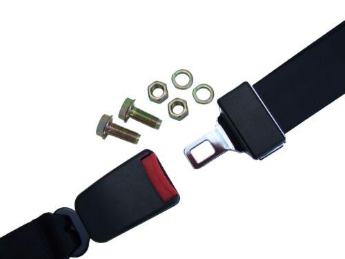 Cinturón de seguridad de regazo//Estático Universal-Coche//Autocaravana//van//Camión//Camper//Bus//entrenador