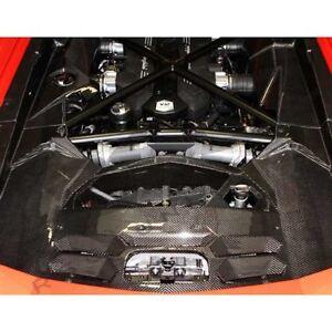 Lamborghini Aventador Carbon Fiber 5 Piece Engine Bay Kit Choose