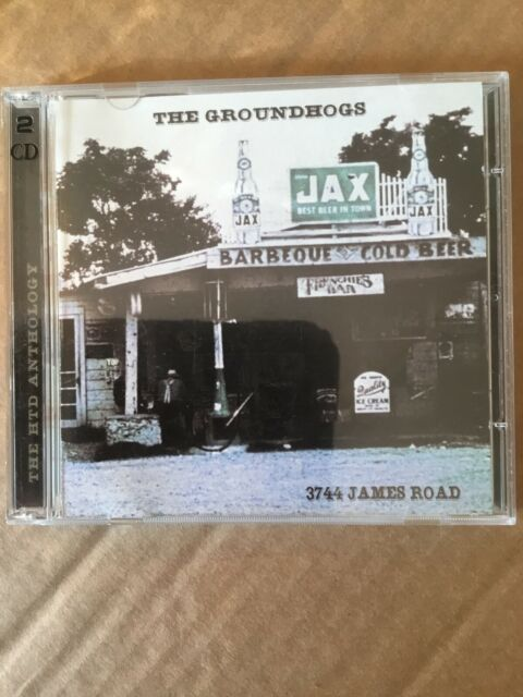 The Groundhogs ‎– 3744 James Road. Double CD. Castle Music CMDDD277.