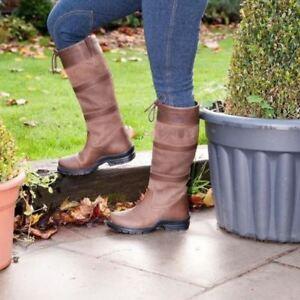 Bottes Poney équitation Pays Extérieur Imperméable Cuir Stable Yard Boots-afficher Le Titre D'origine Couleurs Fantaisie