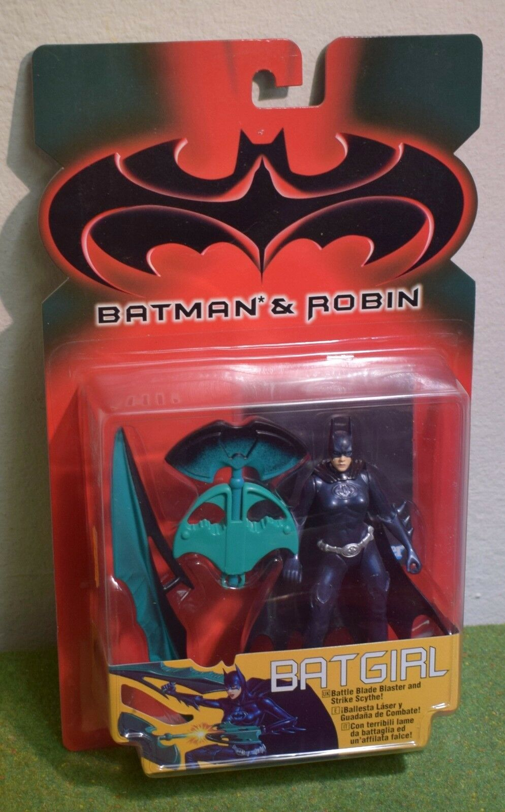 KENNER BATMAN & ROBIN BATGIRL ACTION FIGURE