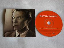 """DAVID BOWIE-SLOW BURN 4 TRACK PROMO CD SINGLE FROM """"HEATHEN"""""""