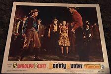 BOUNTY HUNTER 2 LCs '54 cowboy Randolph Scott