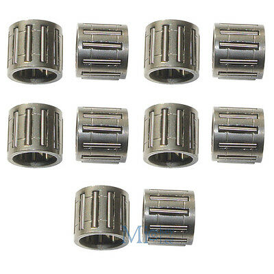 10X Piston Pin Needle Bearings to 017 018 021 023 025 MS210 MS230 MS250 Chainsaw
