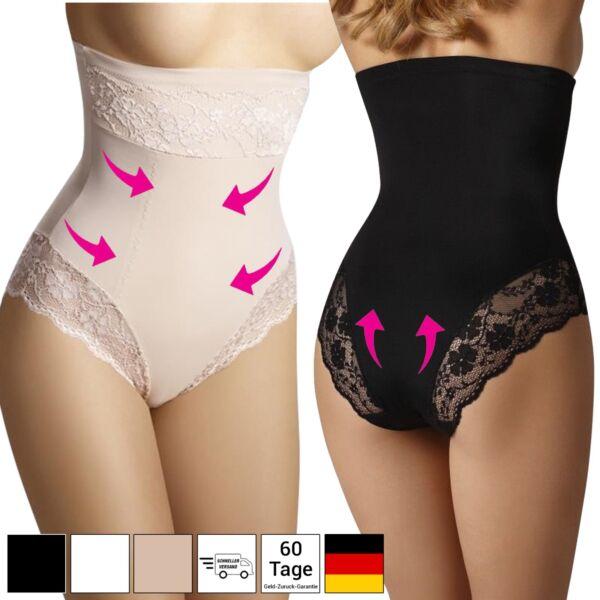 Figurformende Unterwäsche Bauchweg Miederslips Damen Shapewear Formslip 36 – 52