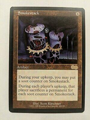 Smokestack Urza/'s Saga HP Rare Artifact MTG Same Day Handling