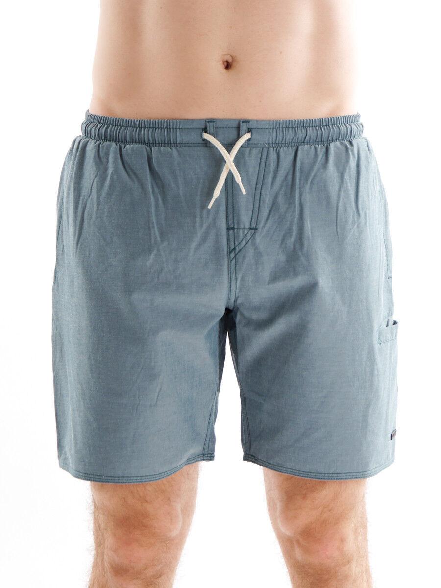Brunotti Boardshort Swimwear Badehose grün Castagne Tunnelzug Taschen