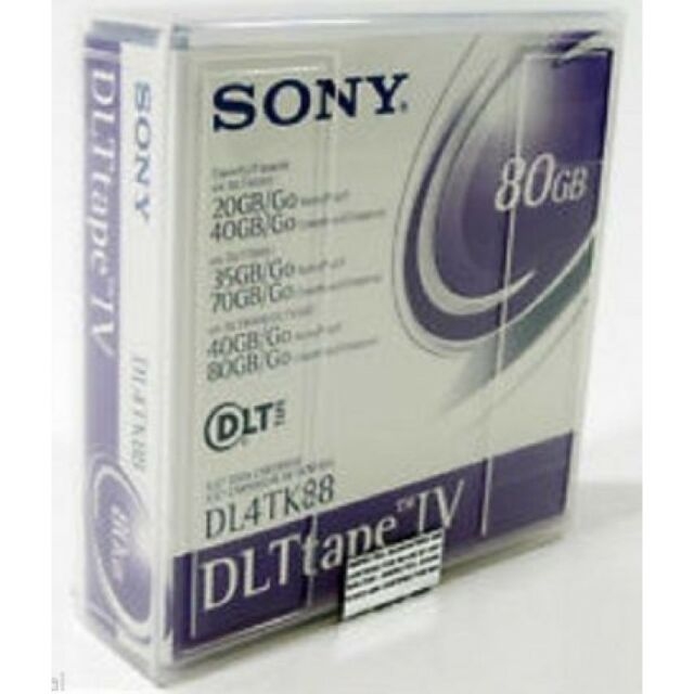 5x Sony DL4TK88 DLT Tape IV 40GB/80GB