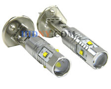 A Pair H1 25W High Power CREE LED Fog Day Time Running Lights Xenon White 360°