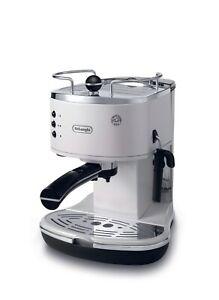 Delonghi-Pump-espresso-and-cappuccino-machine-Icona-White-ECO-ECO310W