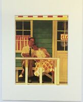 "The Innocents by Jack Vettriano Mounted Art Print 10"" x 8"""