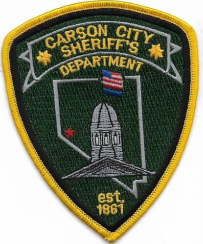NEVADA  Hauptstadt CARSON CITY  SHERIFF old Police Patch Polizei Abzeichen USA