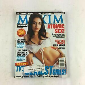 October-2002-Maxim-Magazine-Tv-039-s-Sexiest-Girls-Atomic-Sex-Jackass-Mila-Kunis