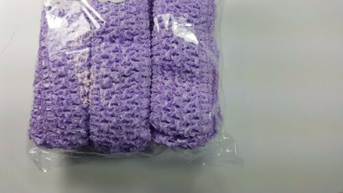 Wholesale 16 pcs Girls Crochet Headband With 1.5 inch Acrylic choose color.
