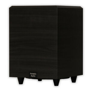 Acoustic-Audio-PSW-8-Home-Theater-Powered-8-034-Subwoofer-300-Watts-Surround