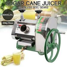 Samger 50kgh Manual Sugar Cane Press Juicer Machine Commercial Extractor Mill