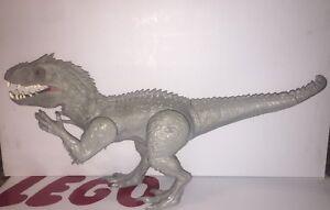 "Figure du Dinasaur Rex Indominus World Jurassique 20 Jurassic World Indominus Rex Dinasaur Figure 20"" Working Minor Wear Read Hasbro"
