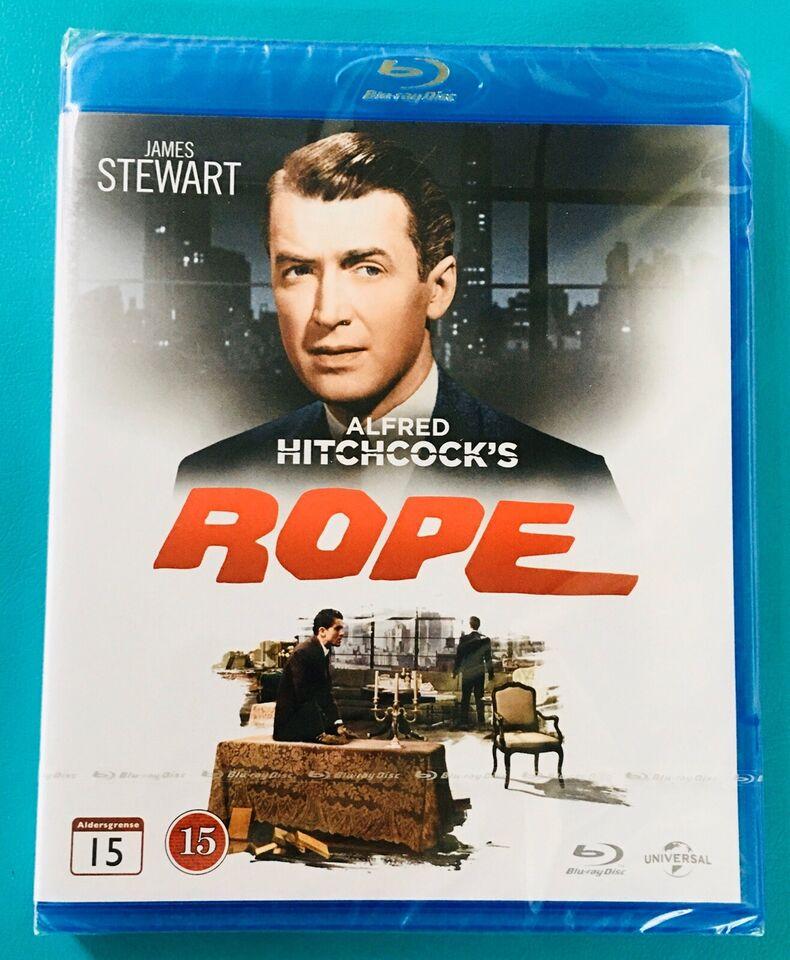 Hitchcock- Rebet, Blu-ray, thriller
