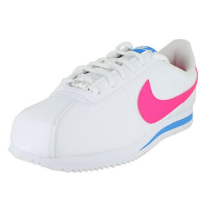 cheap for discount 3ffae 6b4a4 Details about NIKE CORTEZ (GS) HYPER PINK PHOTO BLUE 904764 107 KIDS US  SIZES
