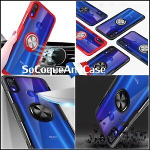 Etui-coque-housse-magnetique-Haute-Protection-Ring-case-Xiaomi-Redmi-Note-7