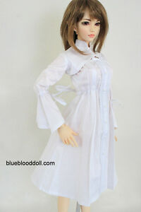13 Bjd Doll Clothes Outfits White Dress Iplehouse Yid Sd16
