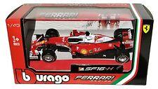 BBURAGO Ferrari Racing F1 2016 SF16-H Sebastian Vettel #5 1:43 Red Diecast car