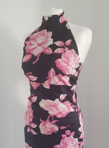 Print Wiggle 40 Karen Millen 8 Uk Rose 12 Dress Us Eu pqgEwtng